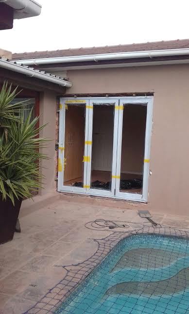 supply and installation of Stack doors